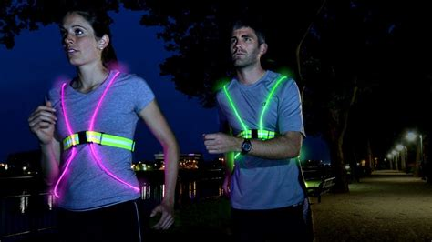 running lights for runners brighten up 6 high visibility items for running in low