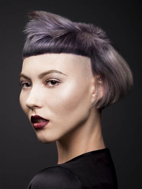 a short grey hairstyle from the bha collection by pkai no