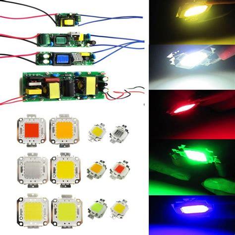 Lu Led Hannochs 10 Watt high power 10w 30w 50w 100w watt led chip l bulb light driver power supply ebay