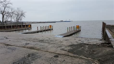 dnr boat launch lake st clair launches st clair report