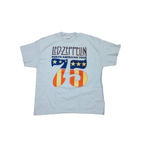 Kaos Led Zeppelin Tshirt Gildan Softstyle Led 12 led zeppelin t shirt american tour for only 163 15 65 at merchandisingplaza uk
