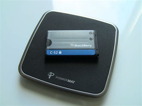 Power Mat by Review Powermat Wireless Charging System For Blackberry Curve 8500 9300 Series Crackberry