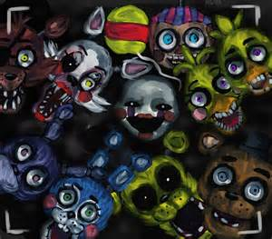Fnaf 2 too late they re already here speedpaint by al ix on