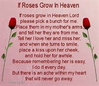My Mom Happy Mother Day in Heaven