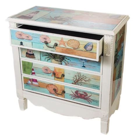 Temporary Drawers Four Drawer By The Sea Chest Globe Imports