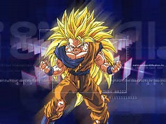 Dragon Ball Z Goku Super Saiyan 3