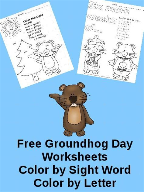 groundhog day kindergarten 204 best images about winter holidays on best
