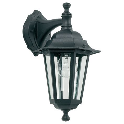 Yg 2004 Outdoor Wall Light In Black Outdoor Black Light