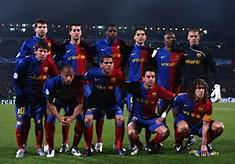 FC Barcelona Soccer Team