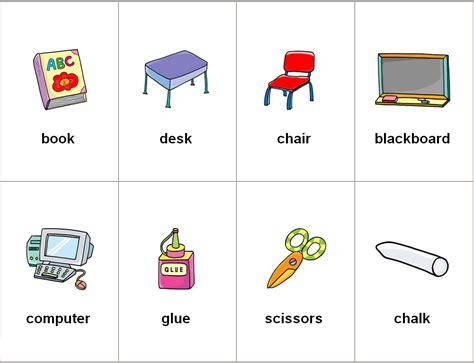 imagenes escolares ingles dibujos de los utiles escolares en ingl 233 s imagui