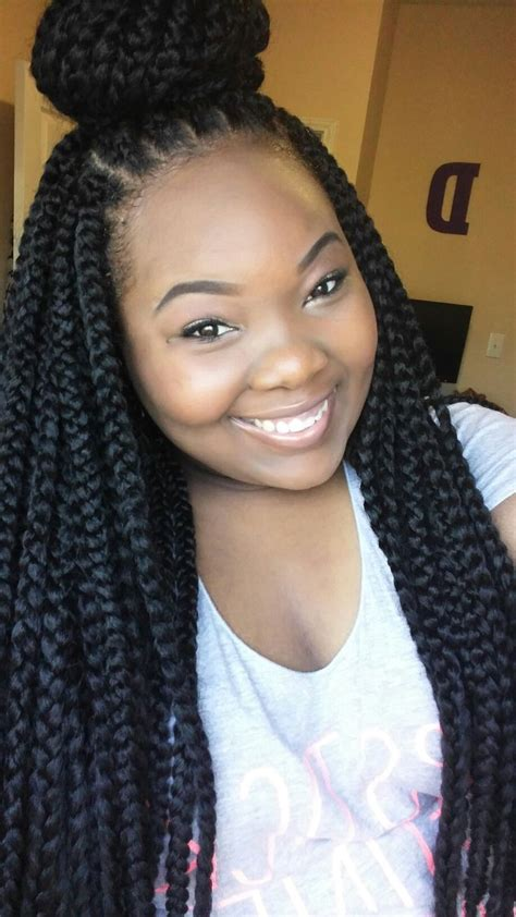 box braids with 2 packs of hair 17 best images about african twist and hair braids style