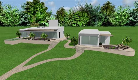 dise o de casas en 3d dise 241 o 3d para dos casas modernas y ecologicas con
