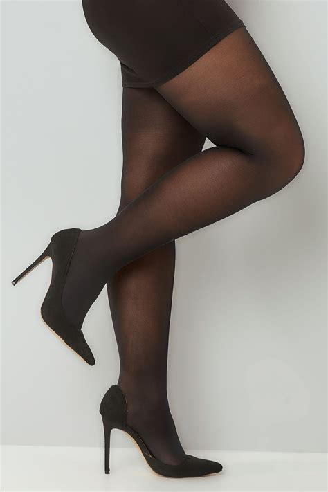 pack black  denier tights  size