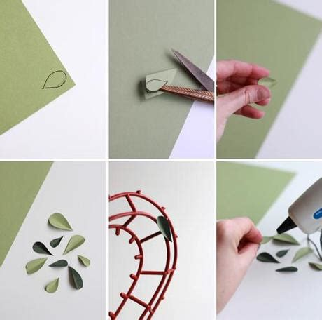 How To Make A Wire Frame For Paper Mache - how to make a paper topiary paperblog