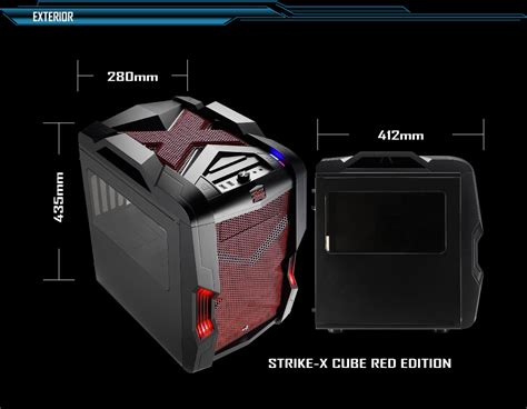 Cube Gaming Nobs Acrylic Window Matx White aerocool strike x cube matx mini itx gaming no psu aer sx cube rd techbuy australia