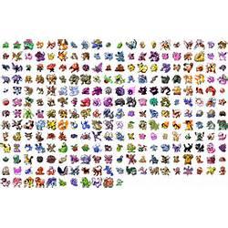 All Pokemon List