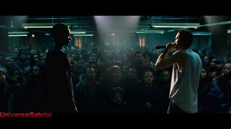eminem movie phenomenon 8 mile batalla de rap final b rabbit vs papa doc