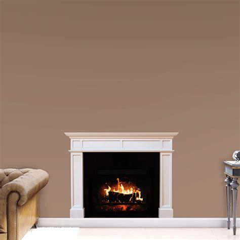 Fireplace Wall Decal by Fireplace Wall Decal Shop Fathead 174 For General Home