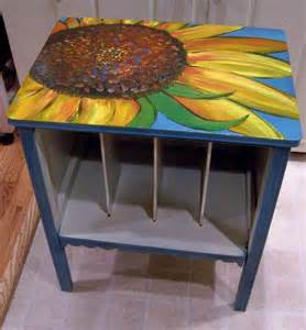 Experimenting with different designs and ideas for painted furniture