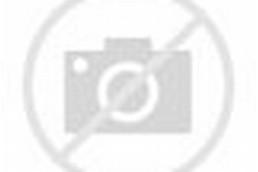 Spring Garden Cartoon Background