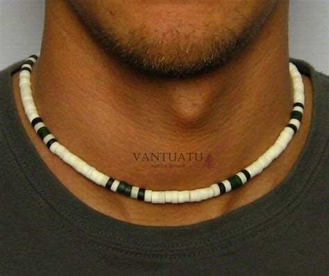 mens bead necklaces australia malibu mens beaded surfers necklace choker
