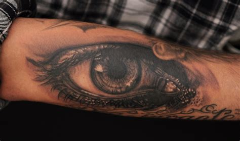 tattoo eye on arm eye tattoos and designs page 15