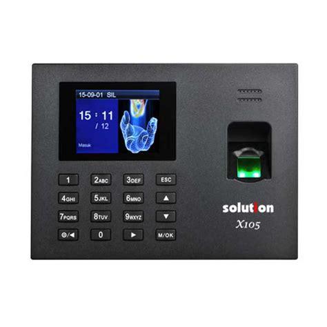 Solution X606 Mesin Absensi Finger Print jual solution x105 mesin absensi fingerprint dan akses door harga kualitas terjamin