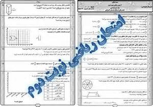 Image result for نمونه سوال رياضي هفتم فصل اول تا پنجم