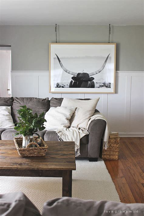Grey Sofa Living Room Decor Unconventional Hanging 12 Ways To Step Up Your Living Room Decor Popsugar Home