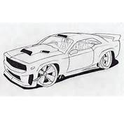 Josiahs Drawings How To Draw A Muscle Car