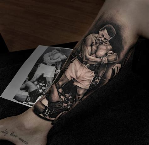 ali quote tattoo the one and only mohammed ali by benjamin laukis
