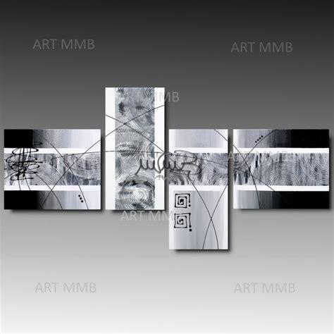 Silver Moments by Quadri Moderni Astratti Dipinti A Mano Mmb Arredamento