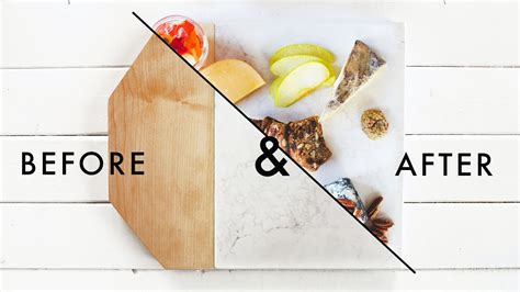 Simple Tip Stop Cutting Board Slippage by Easy Diy Marble And Wood Cutting Board Styling Tips
