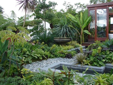 the images collection of best contemporary tropical landscape of tropical landscape design