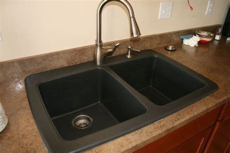 how to clean a black composite sink how to clean your black granite composite sink first