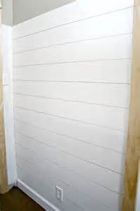 Shiplap Look How To Add The Shiplap Look To Your Home For A Lot Less