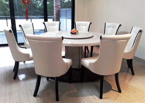 glass dining table and 8 chairs marble top dining table and 8 chairs with sliding
