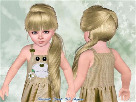 oddler hair sims 3 skysims hair toddler 019