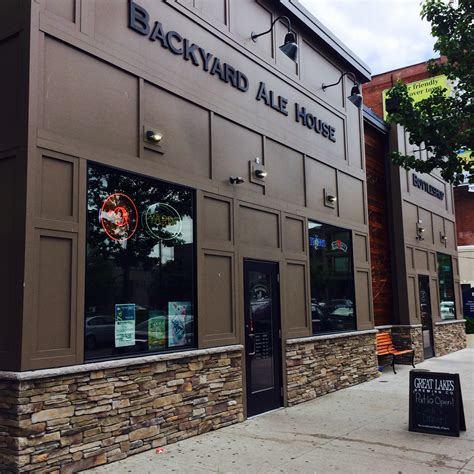 backyard alehouse backyard ale house scranton restaurant