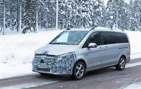 Mercedes Vito 2019 by 2019 Mercedes V Class Test Mule Spied With