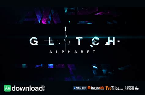 how to get free videohive templates glitch alphabet videohive free free after