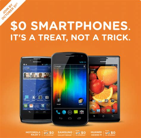 wind mobile ca wind mobile 0 smartphones 200 service credit