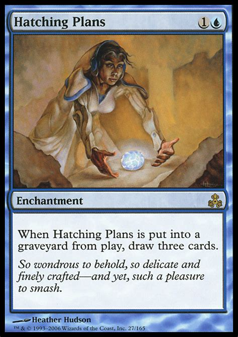gpt format mtg hatching plans magic the gathering card info
