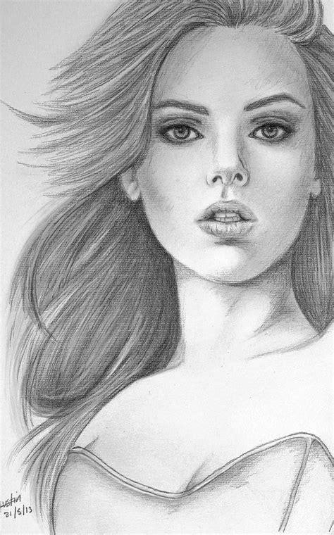 imagenes para dibujar a lapiz mujeres dibujar una mujer imagui