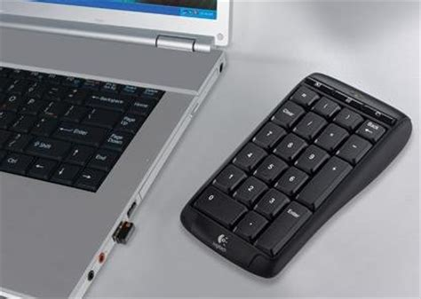 Keyboard Numeric Logitech logitech cordless number pad wireless numeric keypad the tech journal
