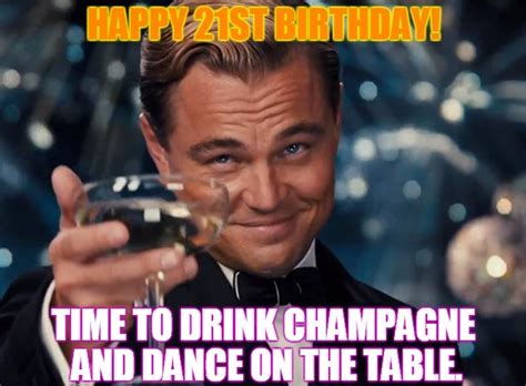 21st Birthday Memes - happy 21st birthday wishes for someone special