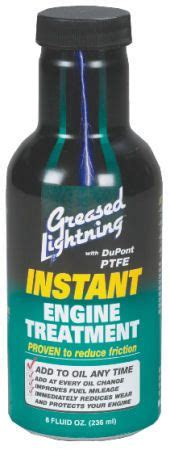 Greased Lightning Car Engine Treatment Greased Lightning Engine Treatment Motor Additives