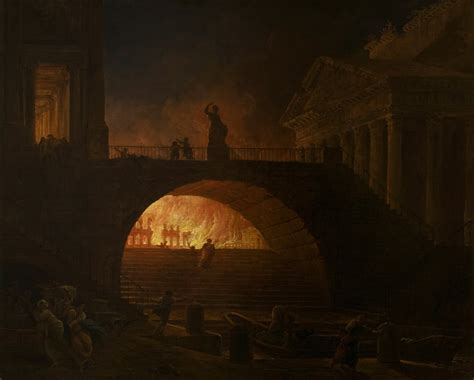the art of fire file hubert robert the fire of rome google art project jpg wikimedia commons