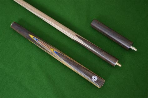 Snooker Cues Handmade - 57 quot handmade spliced snooker cue rosewood with