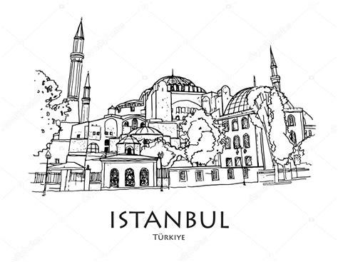 hagia sophia istanbul turkey coloring page coloring 2 istanbul turkey ayasofya hagia sophia istanbul